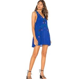 NWT Free People Adelaide festival slip dress, XS